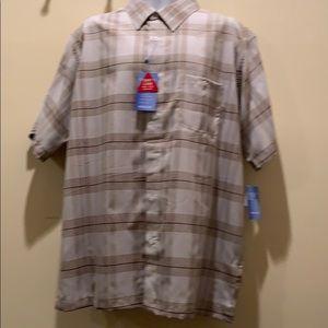 Haggar Cool 18 Tec XL shirt